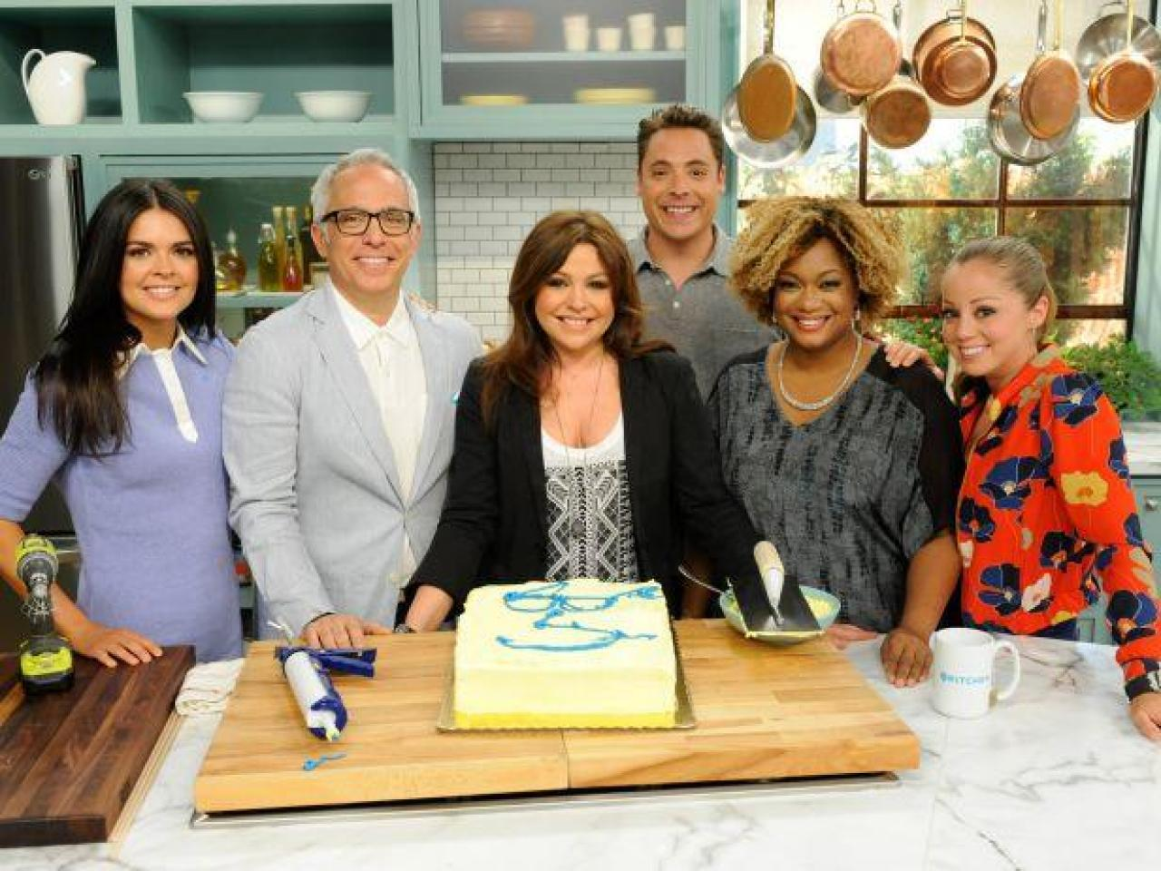 The Kitchen Food Network Celebrating Father's Day With Rachael Ray On The Kitchen And A