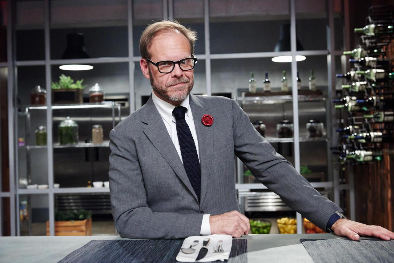 The Kitchen Food Network Cast alton brown bio | alton brown | food network