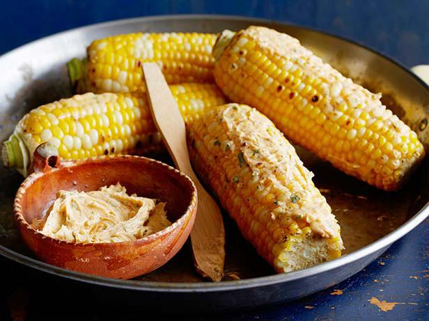 Corn with Chile Lime Butter