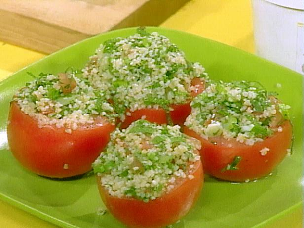 Tomatoes Stuffed with Tabbouleh Salad