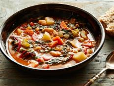 Cooking Channel serves up this Winter Minestrone recipe from Giada De Laurentiis plus many other recipes at CookingChannelTV.com