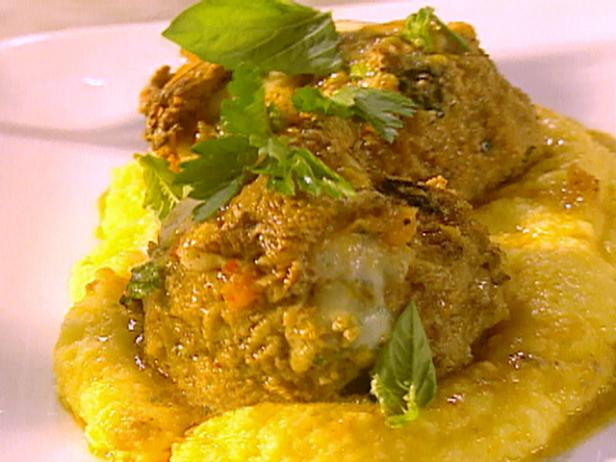 The Ultimate Meatballs al Forno with Creamy Polenta