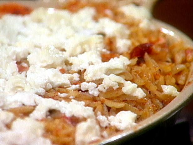 Baked Orzo with Shrimp, Tomato Sauce, and Feta