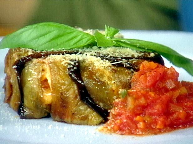 Eggplant Timballo with Cavatelli