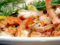 Spicy Garlic Rosemary Shrimp