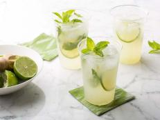 Shake up your own refreshing Mojito cocktail, blended with the traditional lime, mint and rum, with this recipe from Food Network.