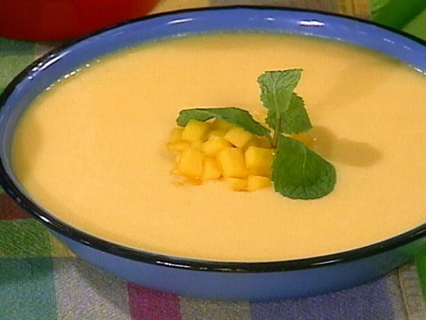 Pack-and-Pour Mango Soup