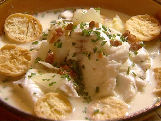 New England Fish Chowder Recipe Food Network