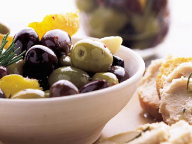 Citrus-Spiced Mixed Olives