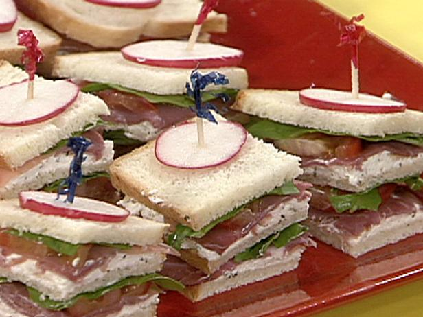 Italian Club Finger Sandwiches