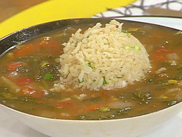 Dandelion Green Gumbo with Good Thyme Rice