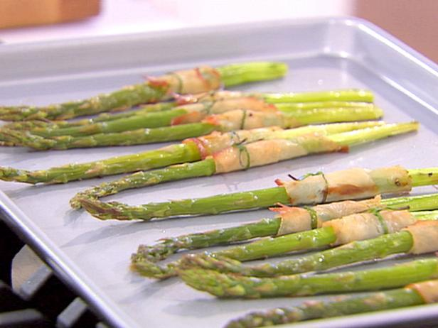 Smoked Turkey Wrapped Asparagus