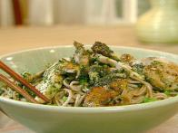 Honey-Jalapeno Chicken with Sesame Soba Noodles