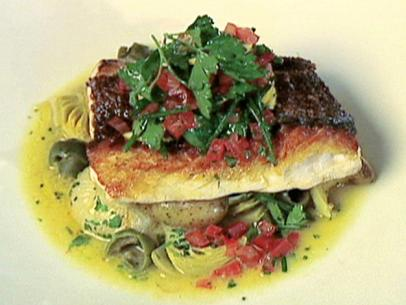 Red Snapper En Papillote Recipe Alton Brown Food Network