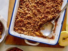 Try this comforting Apple Crumble with a crunchy, nutty topping from Food Network.