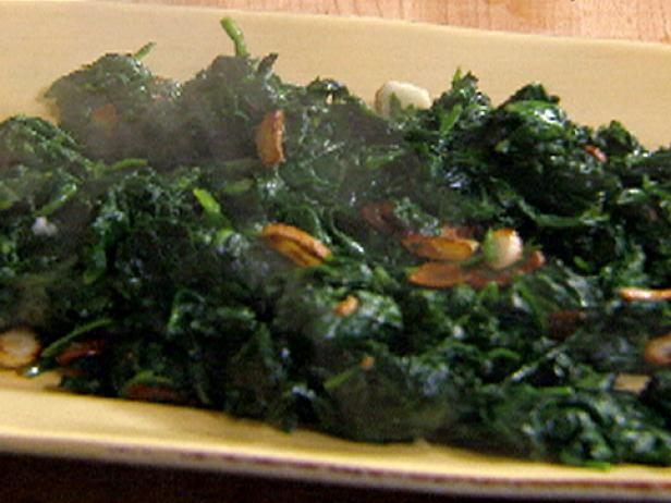 Spinaci (Spinach) alla Padella (Frying Pan)