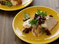 Grilled Chicken Breasts with Shiitake Mushroom Vinaigrette