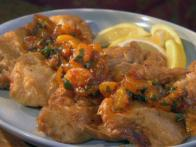 Beer Battered Tilapia with Red Chile Mandarin Orange Sauce