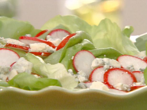 Red and Blue Cheese Salad