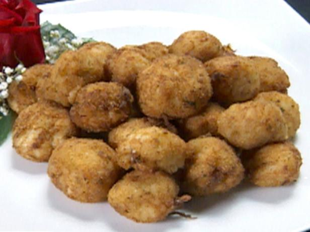 Crab and Sushi Rice Fritters