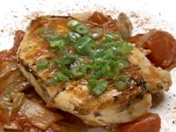 Grilled Chicken Breast Cacciatore
