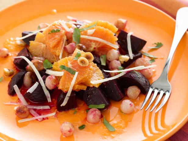 Roasted Beet, Onion, and Orange Salad