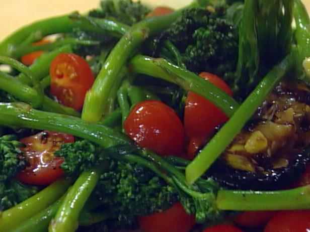 Broccolini with Grilled Zucchini and Summer Squash