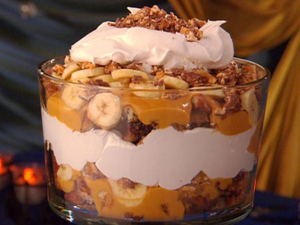 Chocolate Croissant Bread Pudding Trifle