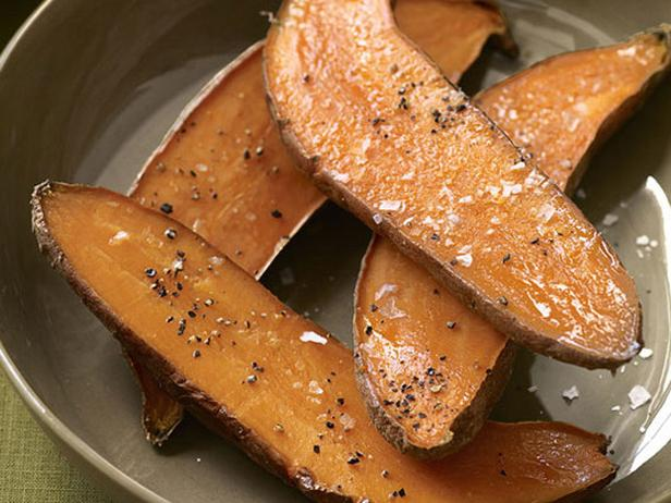 Roasted Sweet Potatoes with Aioli