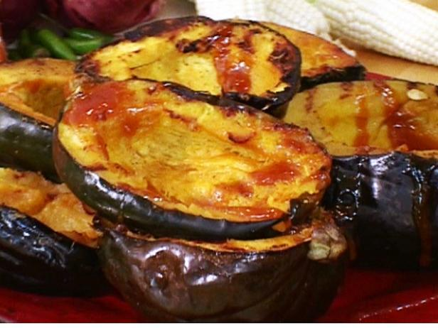 Orange-Glazed Grilled Acorn Squash