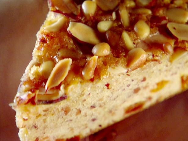 Almond, Pine Nut, Apricot Crumb Cake