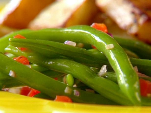 Garlic Green Bean Salad