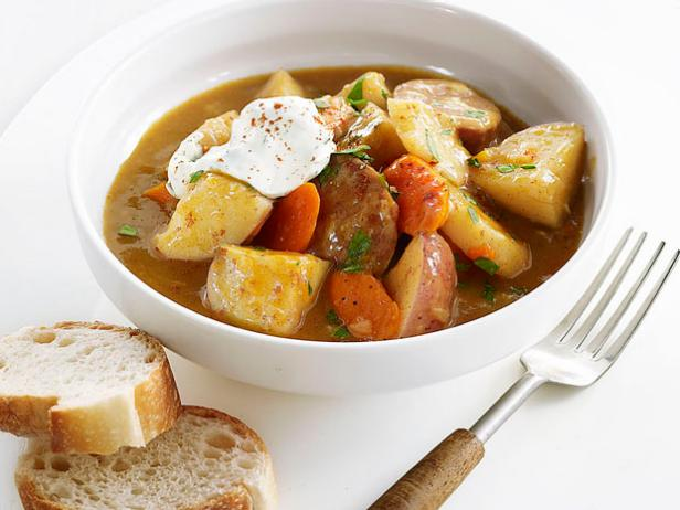 Sausage-and-Vegetable Stew