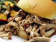 North Carolina-Style BBQ Pulled-Pork Sandwiches