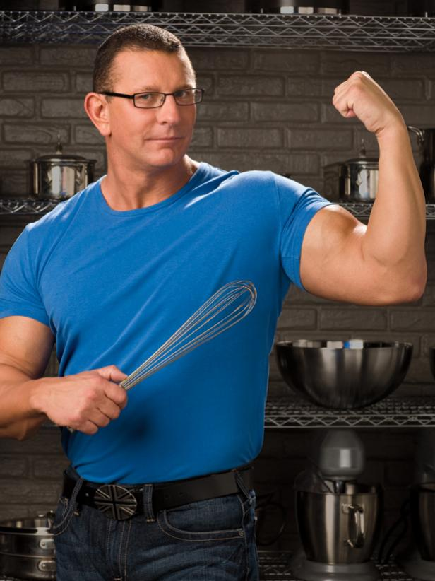 Muscular Chef On Food Network