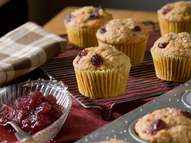 Cranberry-Carrot Muffins