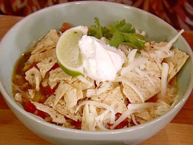 Gina's Hot and Spicy Tortilla Soup
