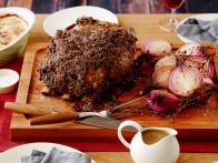 Roast Prime Rib of Beef with Horseradish Crust