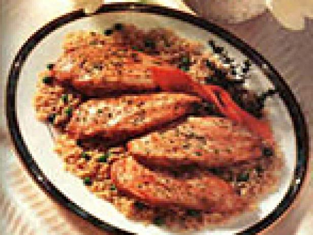 Herbed Brown Rice and Chicken