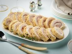 For a weeknight standby, get Tyler Florence's Chicken Cordon Bleu recipe, a breaded cutlet wrapped around salty prosciutto and nutty Gruy�re, from Food Network.