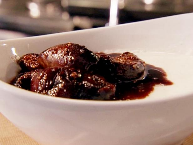 Panna Cotta with Roasted Figs and Balsamic
