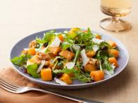 Roasted Butternut Squash Salad with Warm Cider Vinaigrette