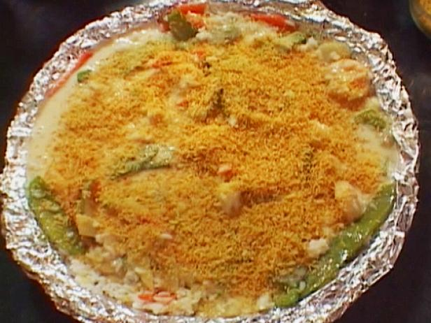 Garlic Shrimp Casserole