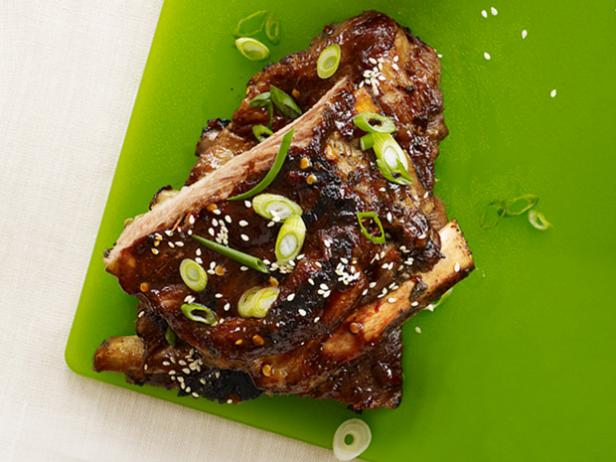 Spicy Hoisin-Glazed Ribs