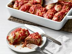 For an Eastern European classic, make Tyler Florence's Stuffed Cabbage Rolls (Galumpkis) from Food Network. They're filled with beef, pork and rice.