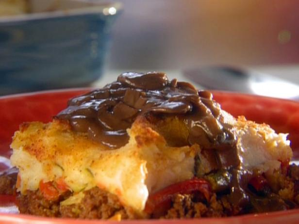Shepherd's Pie with Mushroom Onion Gravy