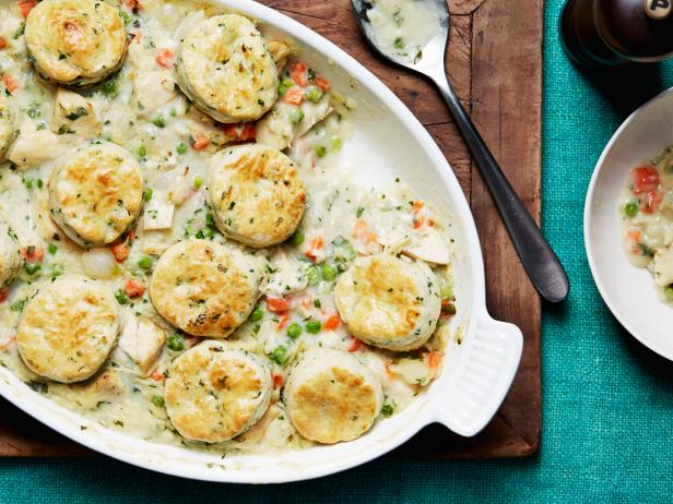 Chicken stew with biscuits recipe ina garten food network Ina garten chicken casserole recipes
