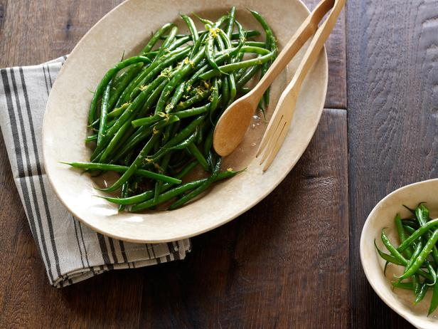 Haricots Verts with Rosemary