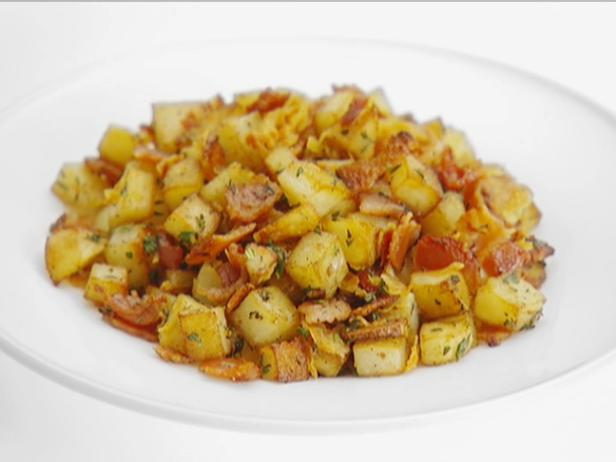 Bacon and Pancetta Potatoes