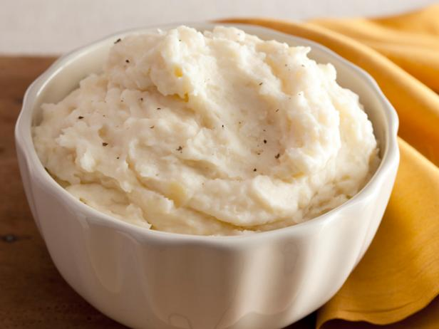 Creamy Garlic Mashed Potatoes Recipe | Alton Brown | Food ...